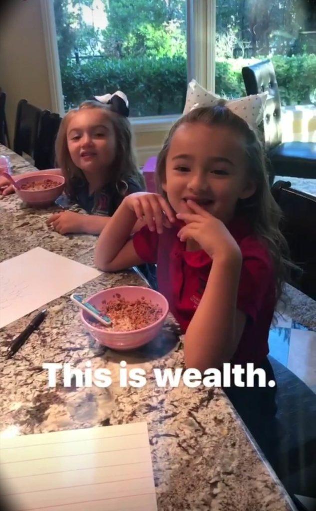 Brad Lea's daughters