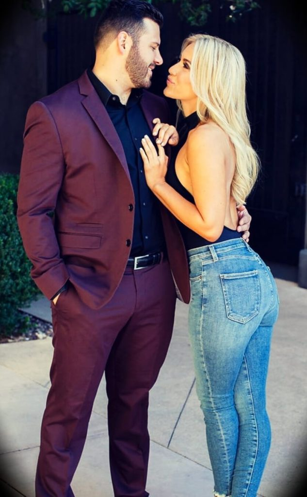 Cayla Craft with her husband Chase Craft