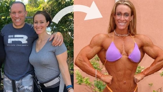 Photos Of Dave Palumbo's Wife When She Was A Bodybuilder
