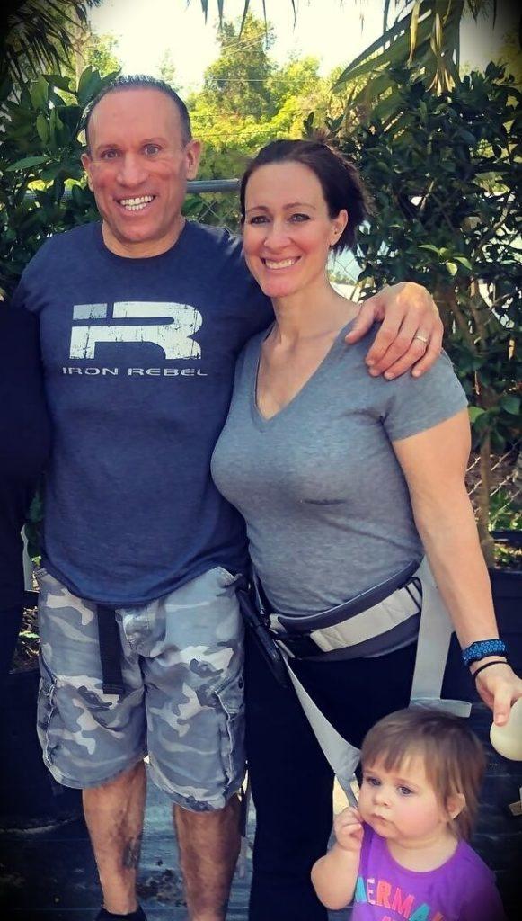 Dave Palumbo's wife Amanda Palumbo