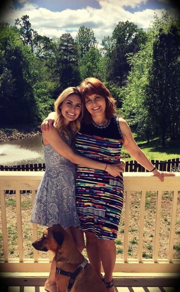 Debbie Buttar with Sara