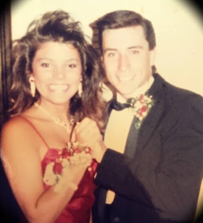 Old picture of Ed Mylett with his wife Kristianna Mylett