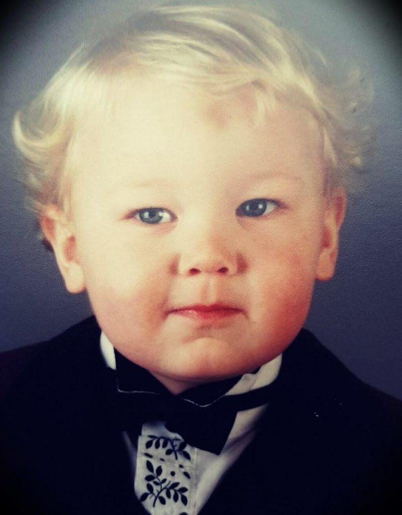 Hafthor Bjornsson at 1 year old
