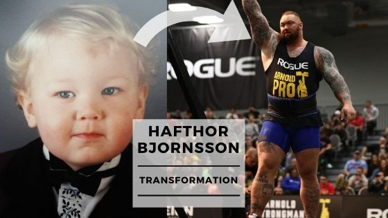You are currently viewing Rare Pics Of Hafthor Bjornsson From 1 Year Old To Now