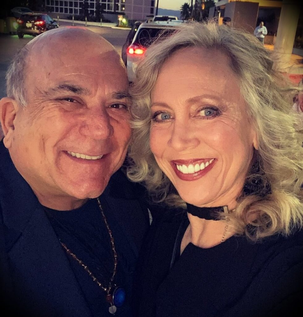 Joe Vitale with his girlfriend Lisa Winston