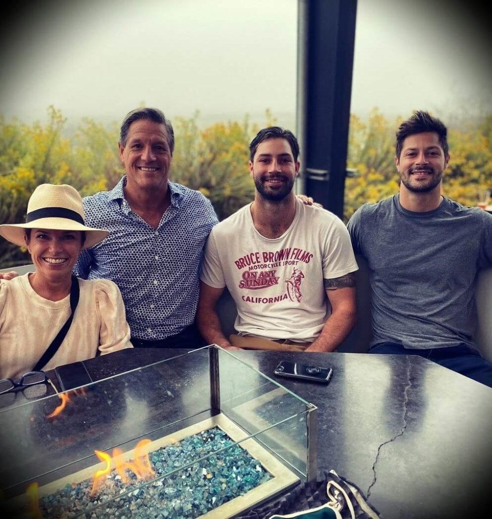 John Assaraf with his family