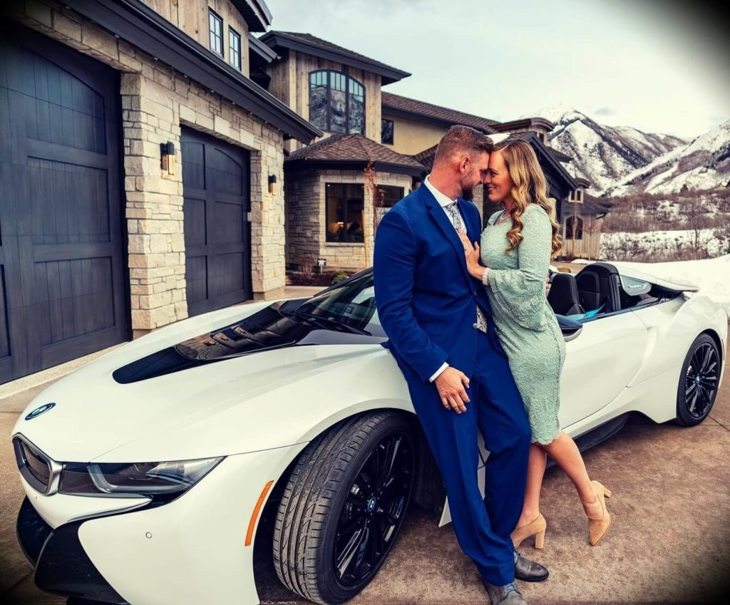 Kris Krohn with his wife Kalenn Krohn