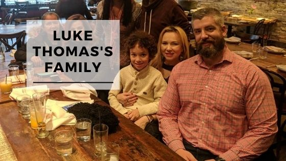 8 Rare Pictures Of Luke Thomas's Wife & Family