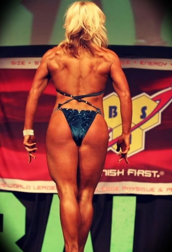 Callie Marunde Best in a physique/bodybuilding competition