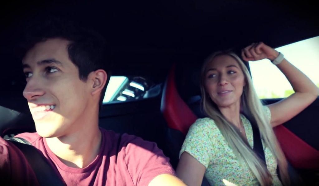 Ricky Gutierrez with girlfriend