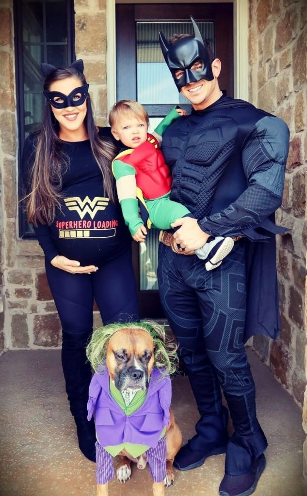 Abel Albonetti with his wife Shelby Albonetti and their son Brady
