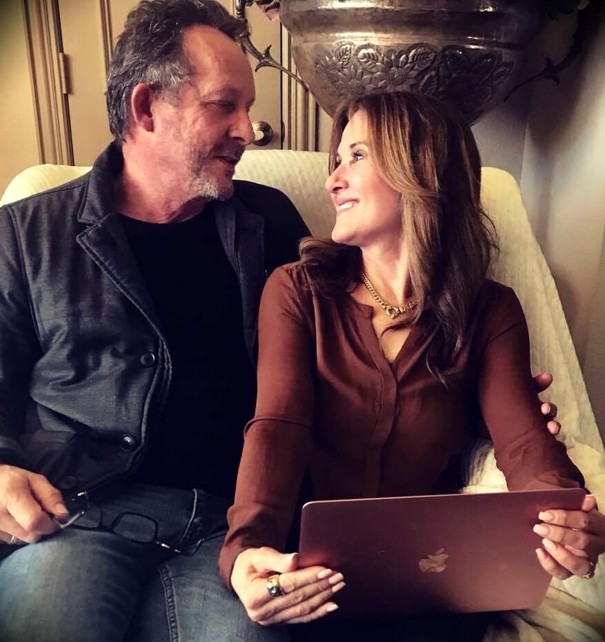 Dr. Caroline Leaf with her husband Mac Leaf