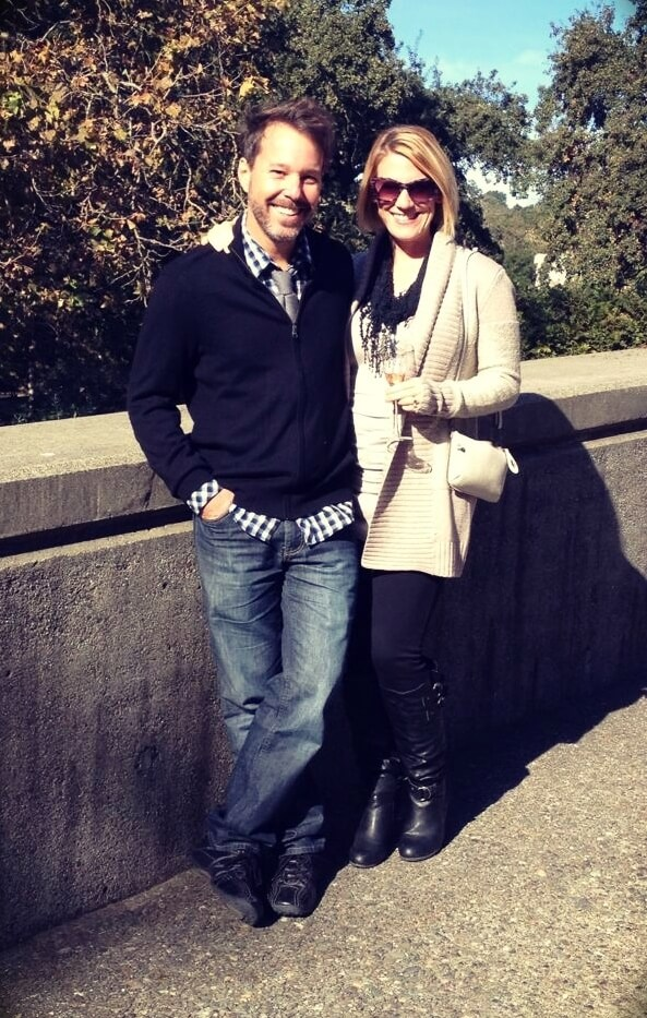 Erich Andreas with his wife Melissa Peirce Mahnke