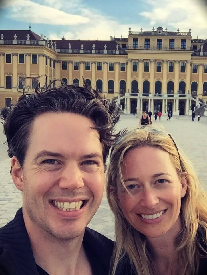 guitar teacher Carl Brown from GuitarLessons365Song with his fiancée