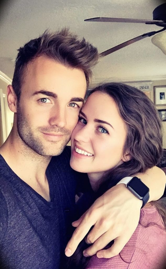 Harris Heller with his wife Kenzie Nimmo