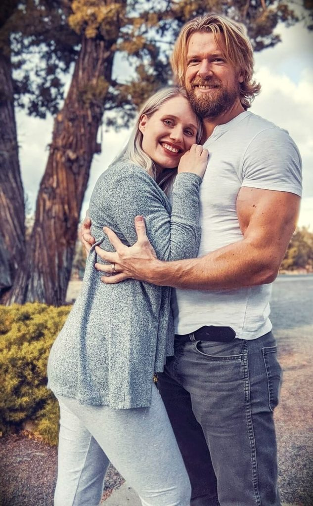 Hudson White with his wife Aga White