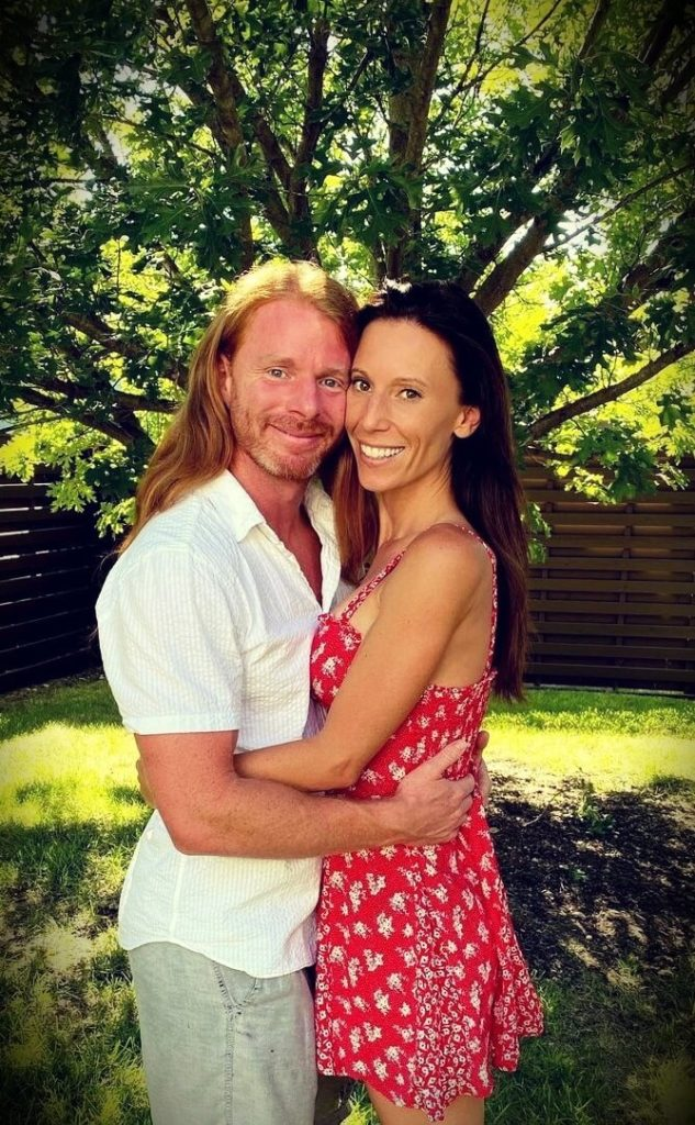 JP Sears with his wife Amber Sears