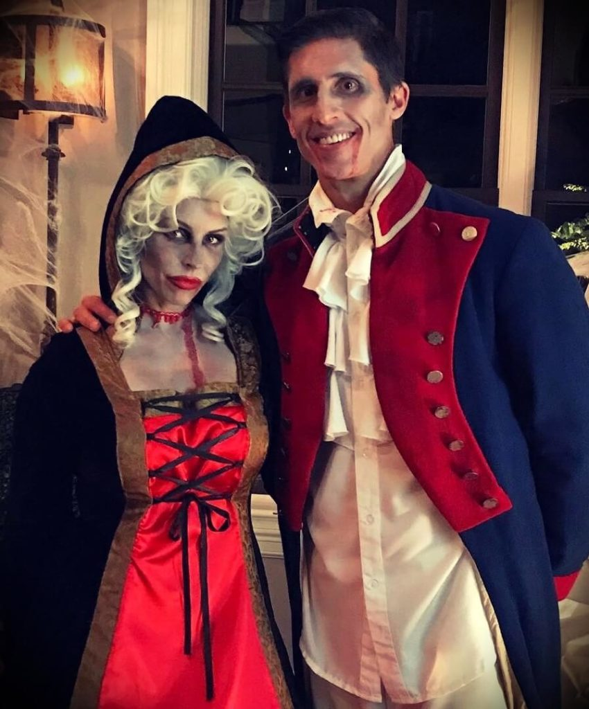 Jeff Cavaliere with his wife