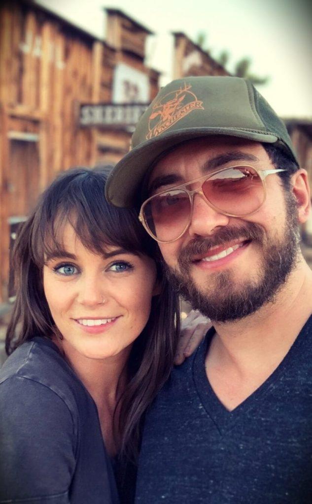 John Konesky with his girlfriend