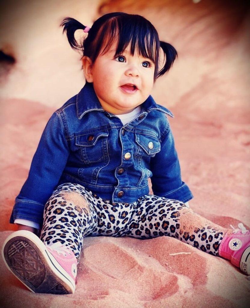 Youtuber Jonathan Santos's daughter Alina