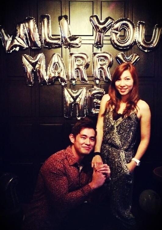 Jordan Yeoh with his wife