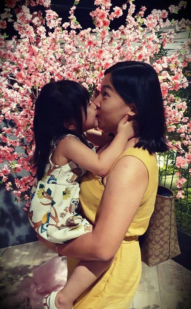 Jordan Yeoh's wife and daughter