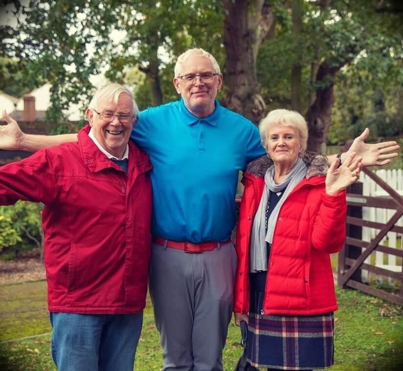 Mark Tilbury's parents