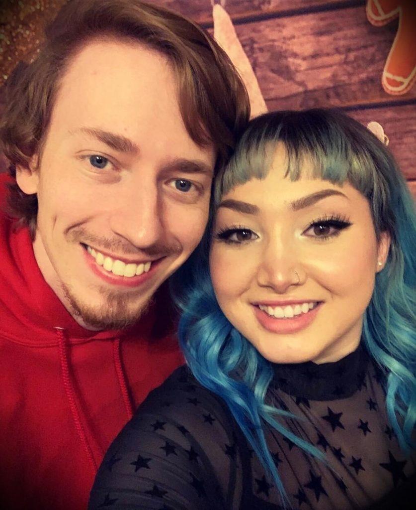 MrMattyPlays with his girlfriend Leile Jade