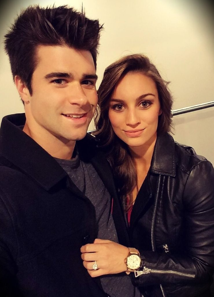 Lucas Ball aka Pigmie with his wife Jaclyn