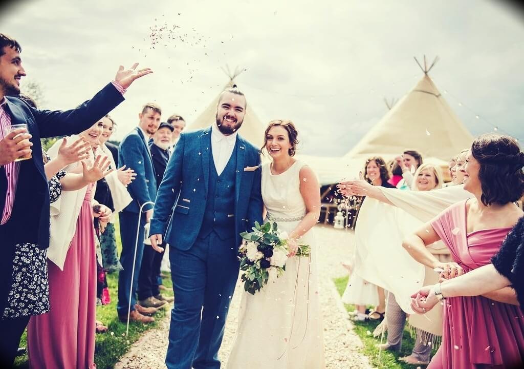 Randolph's wedding