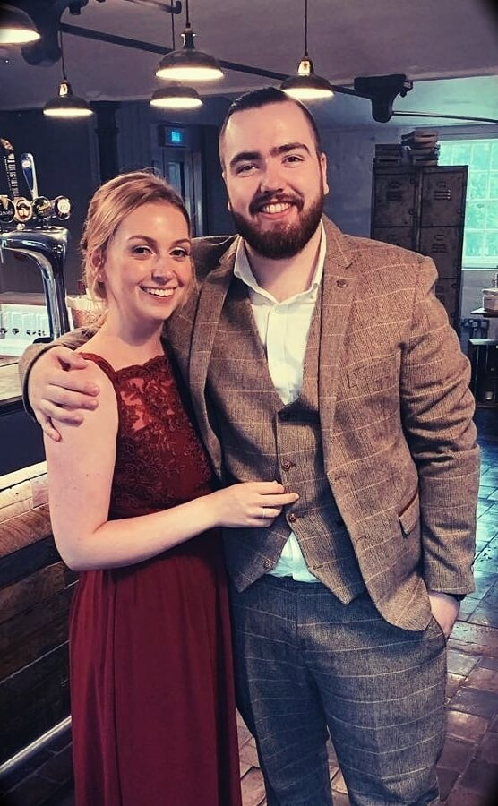 Randolph with his wife Laura Shane