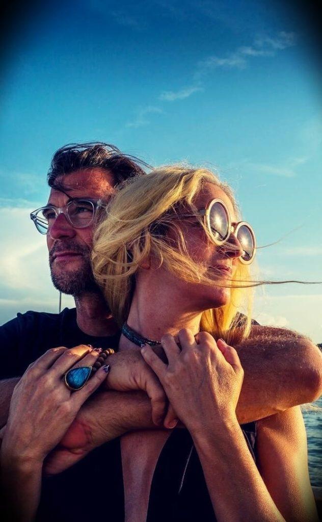 Rich Roll with his wife Julie Piatt
