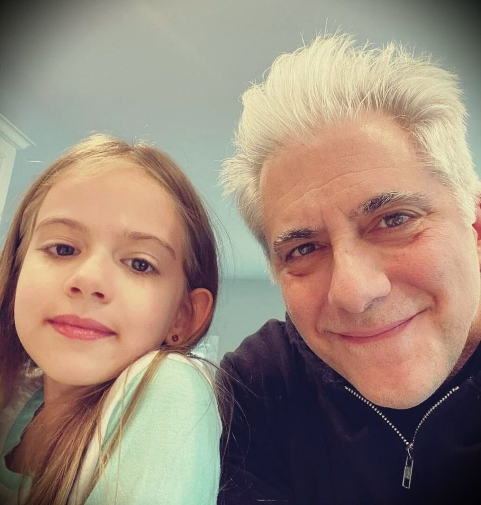 Rick Beato with his daughter Layla