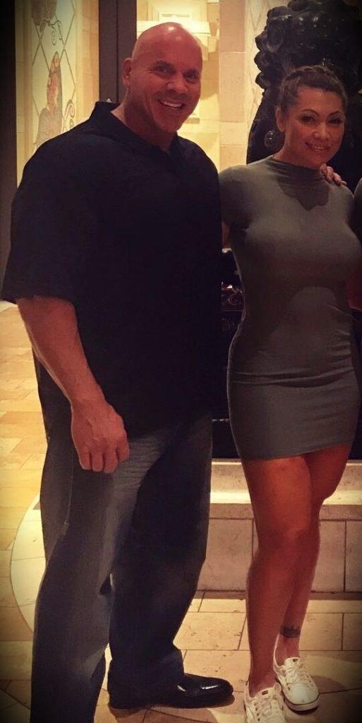 Stan Efferding with his wife Malia Efferding