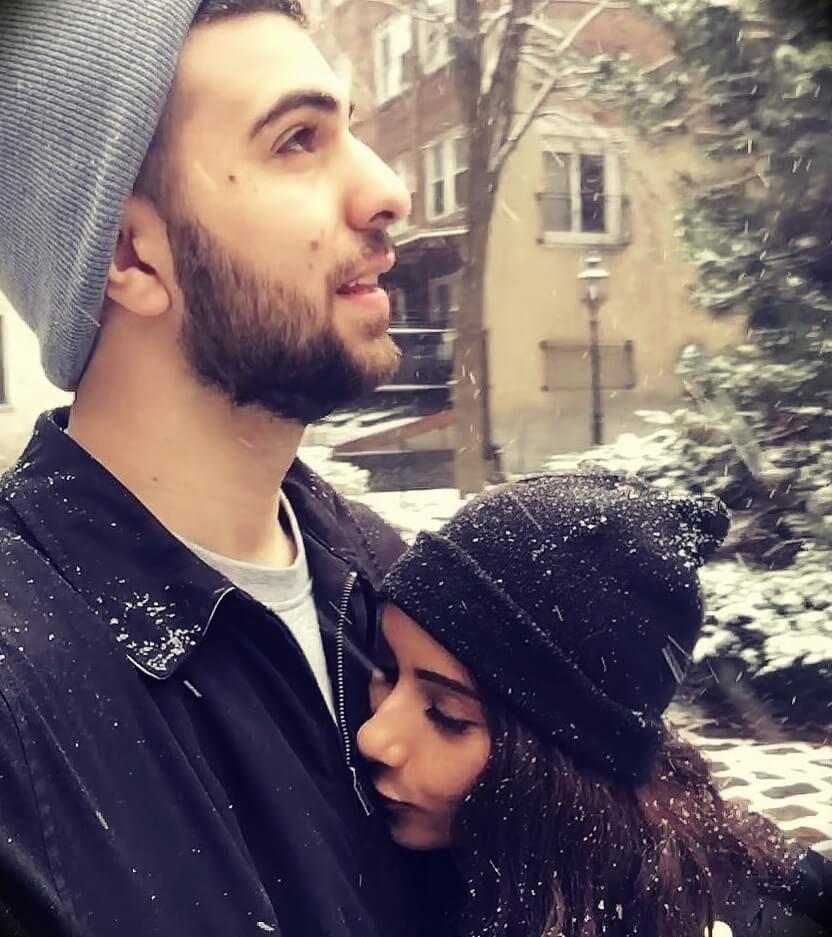 Ali Hassan aka SypherPK with his wife Daniela