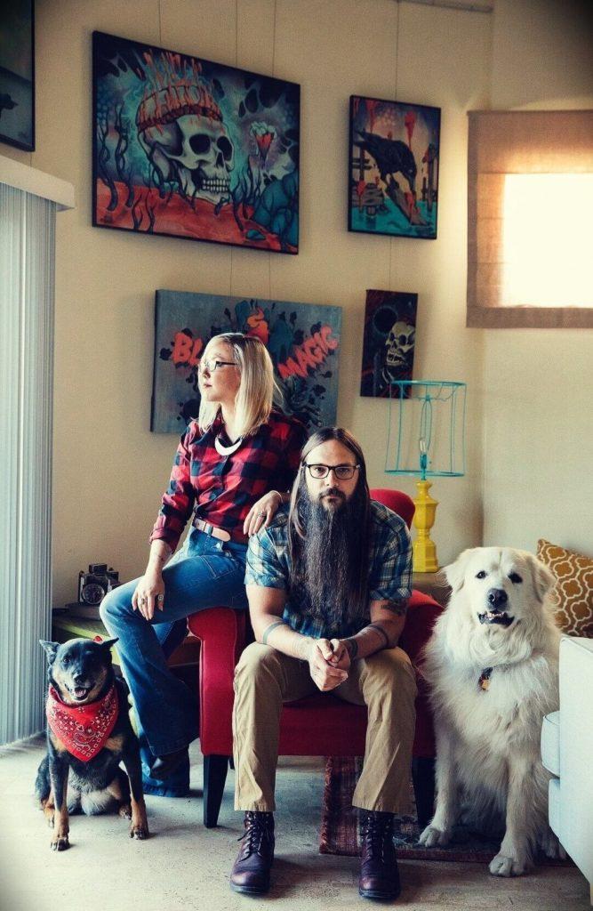 Tony Polecastro with his wife Whitney Polecastro