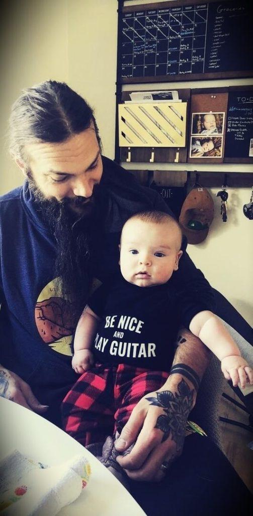 Tony Polecastro with his son Emerson
