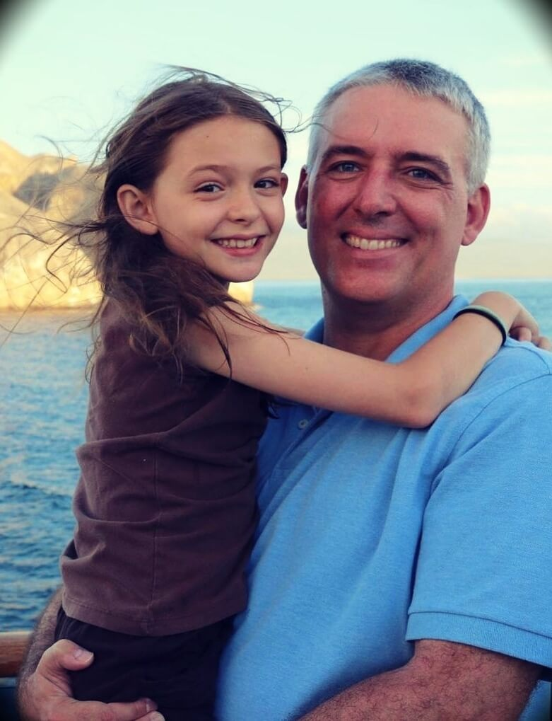 Victoria Stilwell's husband and daughter