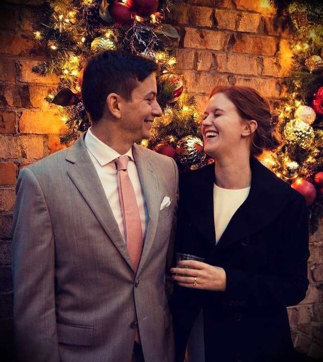 Zak George with his wife Bree George