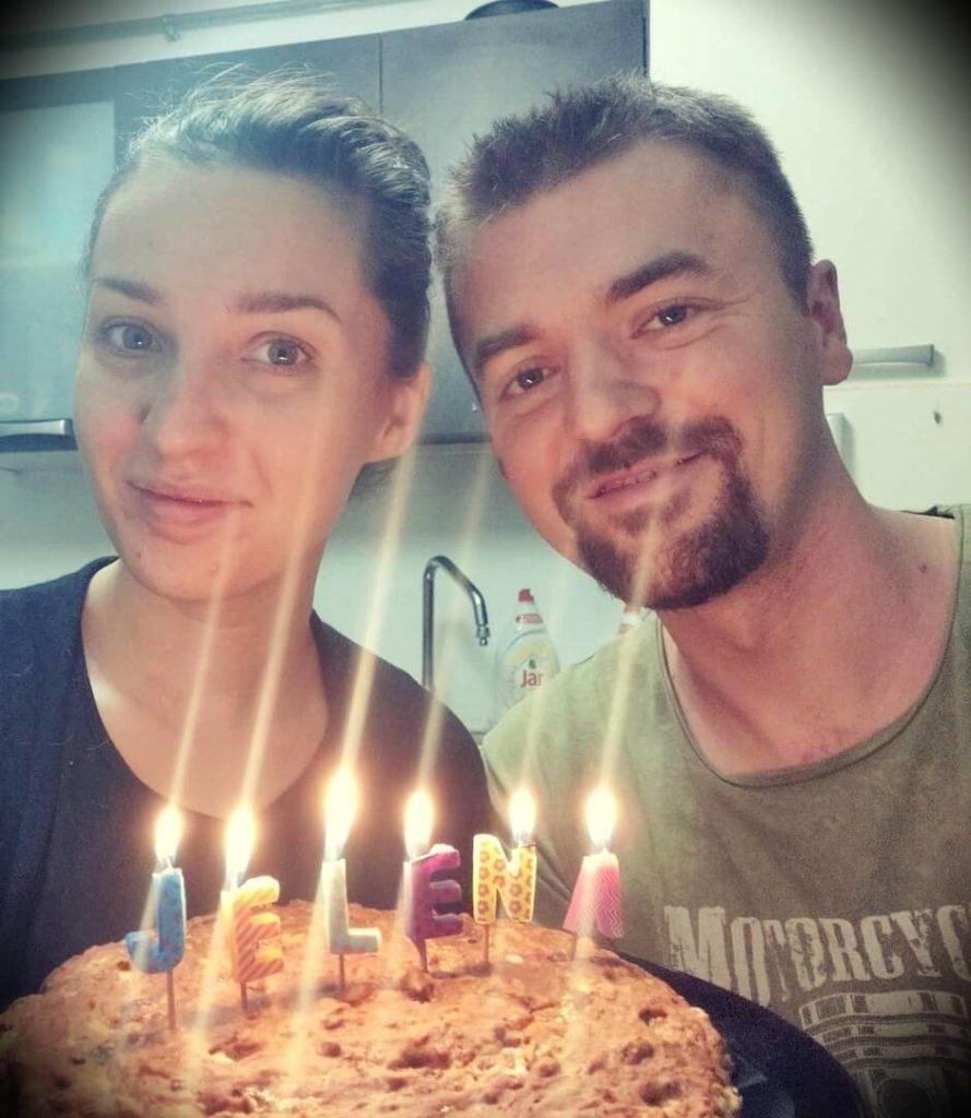 Antonio Radić aka Agadmator with his fiancée Jelena