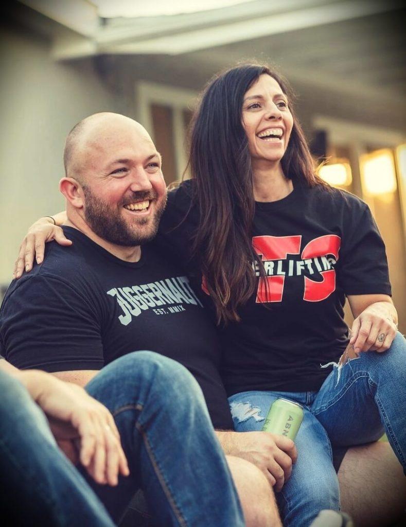 Chad Wesley Smith with his girlfriend Marisa Inda