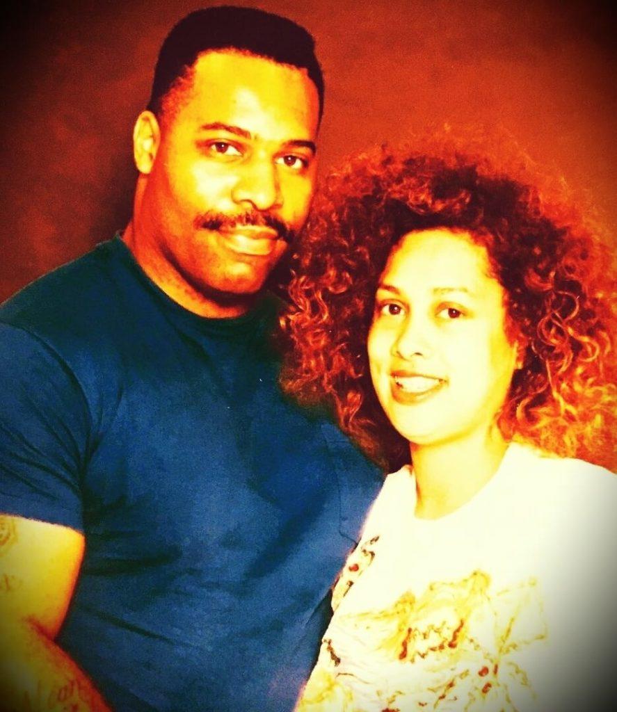 C.T. Fletcher with his wife Beatrice Fletcher
