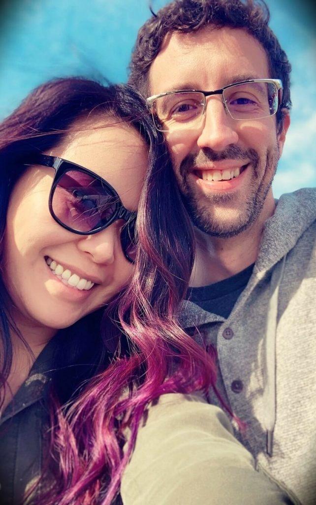 for3v3rfaithful Ellen with her fiancé Adam Brodzinski