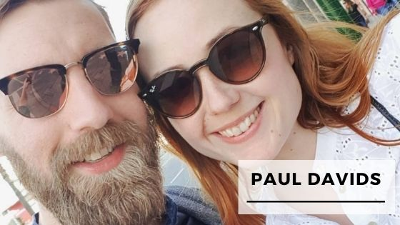 Read more about the article 9 Rare Pics Of Guitarist Paul Davids With His Wife