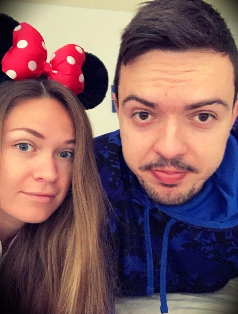 Rhymestyle with his girlfriend Kayla Viola