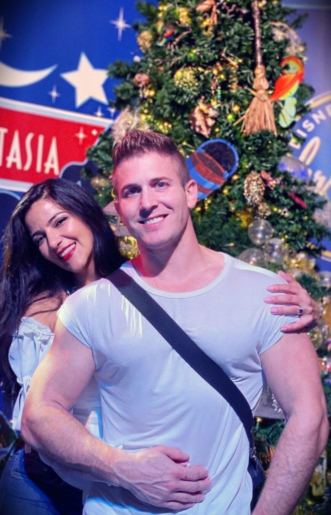 Scott Herman with his wife Erica Herman