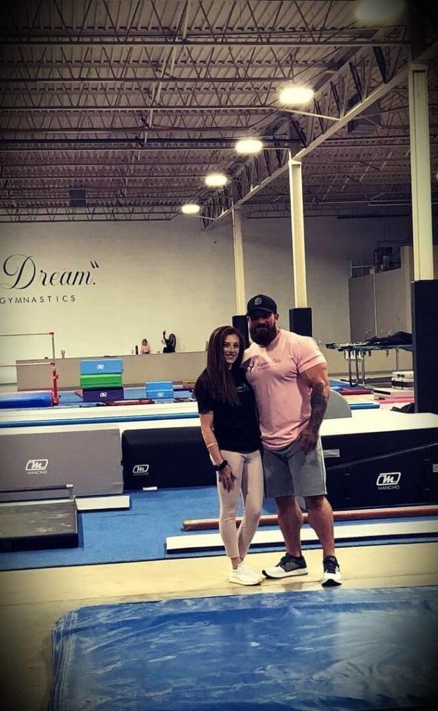 Seth Feroce with his fiancée Hannah Nicole