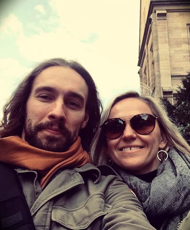 Rob Swift from Swiftlessons with his wife Natalia Serejko