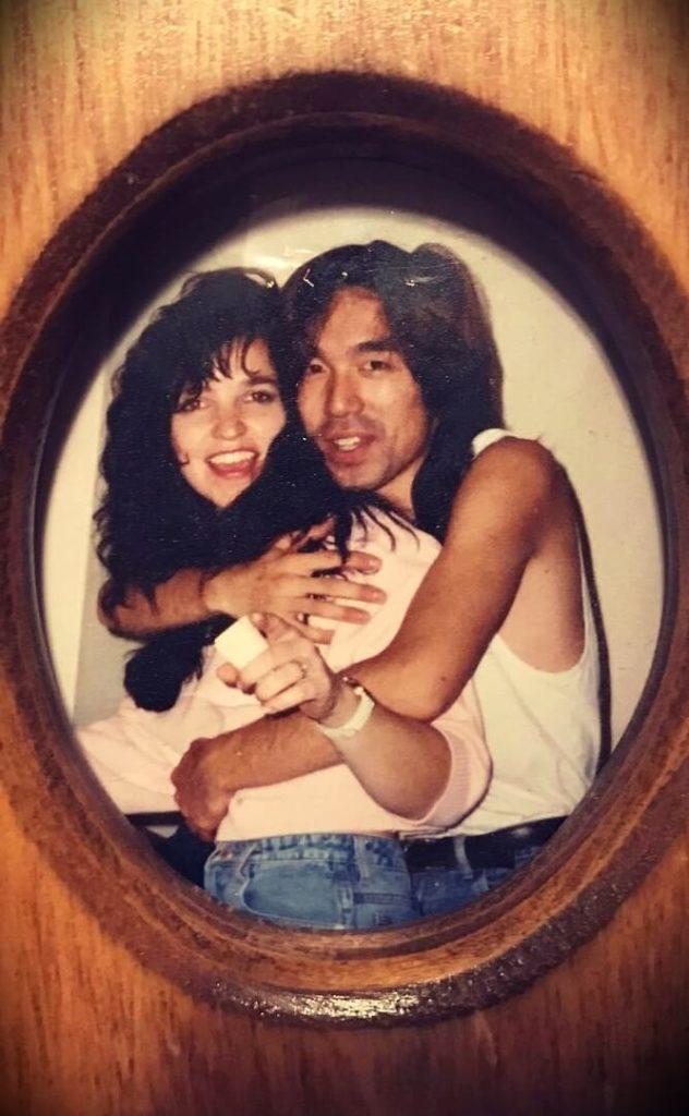 Tomo Fujita with his wife Beth Fujita