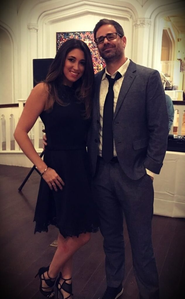 Yannis Pappas with his wife Brittany DeCicco